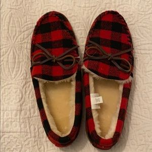Men's flannel slippers